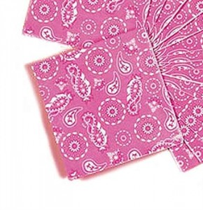 Pink Sweet 16 Cowgirl Napkins