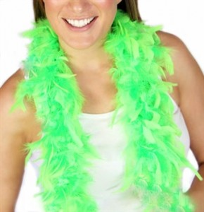 Sweet 16 Lime Green Feather Boa