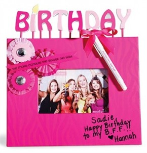 this is one you autorgraph sweet 16 picture frame