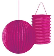 Pink Lantern Sweet 16 Decoration