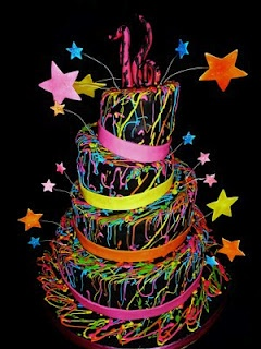 Sweet 16 Party Idea Black Light