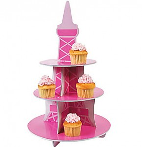 decor tier cupcake stand eiffel tower 2