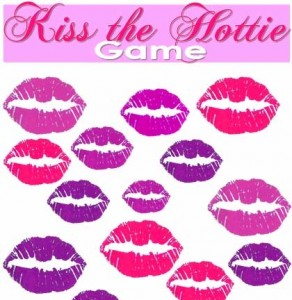 kiss the hottie game