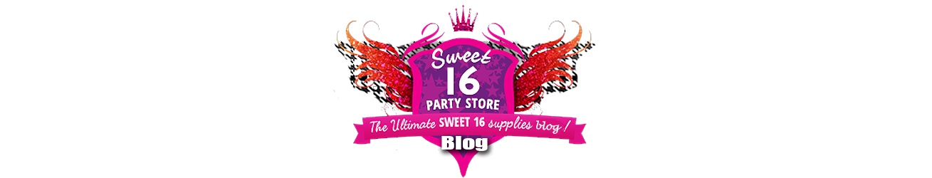 Sweet 16 Party Store Blog logo
